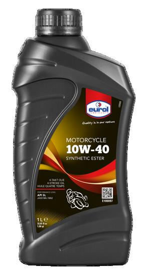 10W40 Yarı Sentetik 4T Motosiklet Yağı