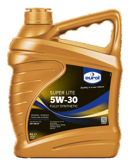 5W30 Tam Sentetik Motor Yağı Super Lite